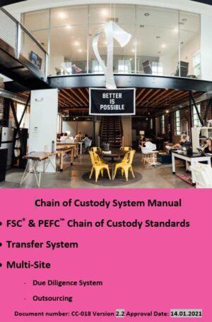 FSC and PEFC Multi-Site Transfer Chain of Custody